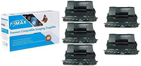 SuppliesMAX Compatible Replacement for Okidata B730 Toner Cartridge 52123603/_5PK 5//PK-26000 Page Yield