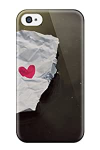 Protective Tpu Case With Fashion Design For Iphone 4/4s ( Loves For Pc)