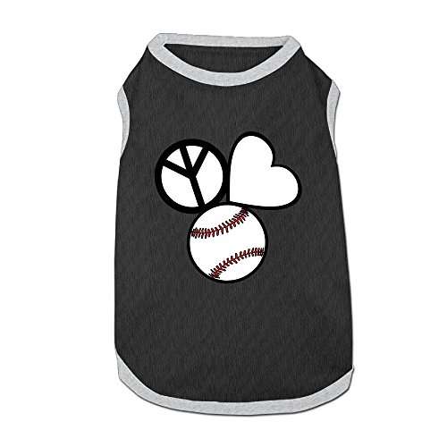 Costumes Dog Sweaters Peace Love Baseball Pet SuppliesSoft And Warm (Vdub License Plate Frame compare prices)