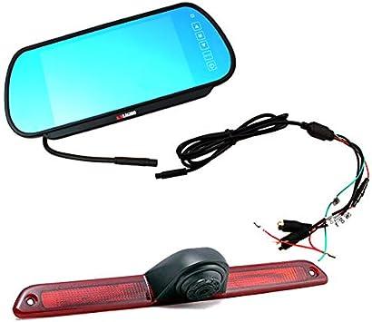 sprinter rear camera wire diagram amazon com knragho compatible with brake light backup camera  brake light backup camera