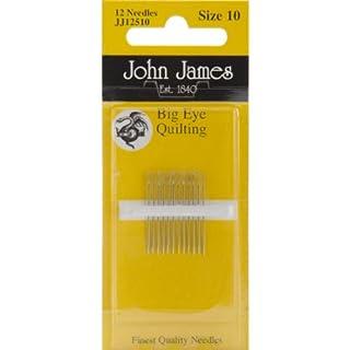 John James Big Eye Quilting Hand Needles-Size 11 12/Pkg