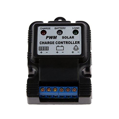 6V 12V 10A Regulador de Solar Cargador Controlador Detector Magnético Panel Batería