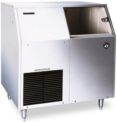 Hoshizaki F-300BAF 36'' Energy Star Rated Undercounter Ice Maker With 303 lbs. Daily Ice Production Flaked Ice 100 lbs. Built-In Storage Removable Air Filter And Scoop: Stainless by Hoshizaki