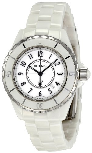 Chanel Women's H0968 J12 White Ceramic Bracelet Watch (Chanel J12 White Ceramic Watch)