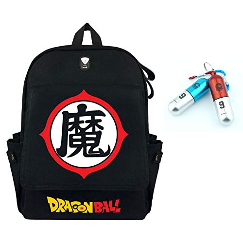 Amazon.com: Manalo Dragon Ball Z - Mochila con llavero de ...