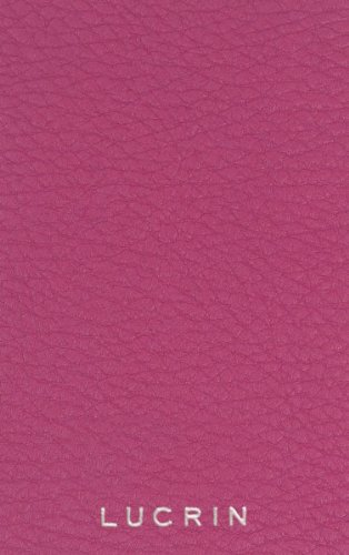 Lucrin - A5 document wallet - Fuchsia - Granulated Leather by Lucrin (Image #2)