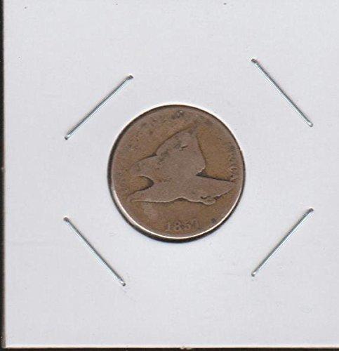 1857 Flying Eagle (1856-1858) Penny Good (1856 Half Dollar)