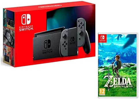 Nintendo Switch 32Gb Gris + The Legend of Zelda: Breath of The ...