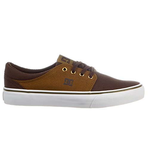 DC Trase TX Skate Shoe, Military/Dark Chocolate, 11.5 M US (Chocolate Skate compare prices)