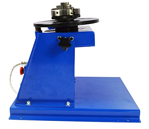 TECHTONGDA 110V Welding Positioner Turntable with 65mm Chuck & Foot Switch by TECHTONGDA (Image #1)