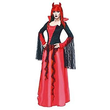 Partilandia Disfraz Diablesa Noble para Mujer (M): Amazon.es ...
