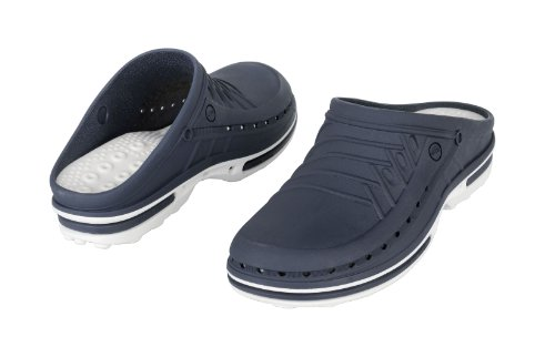 Absorption Shock Antistatic; White Footwear Antislip; Professional WOCK Sterilizable; Clog Navy Blue 6qA0Bn