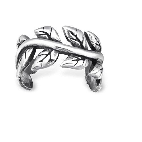 Sterling Silver Leaf...