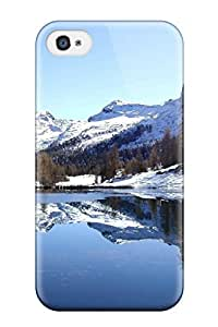 Fashion Protective Earth Winter Nature Winter Case Cover For Iphone 4/4s