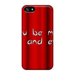 Fashionable Style Cases Covers Skin For Iphone 5/5s- Be Mine Kimberly Kurzendoerfer