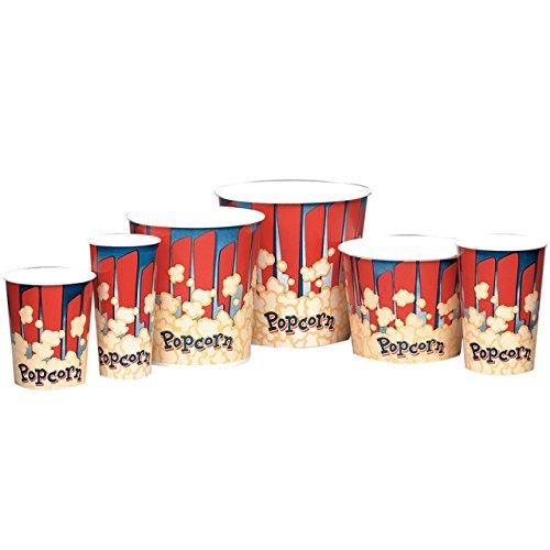 0 Oz Popcorn Tub (Red) ()