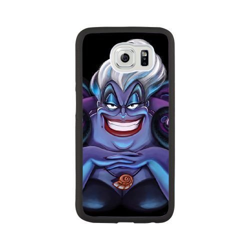 The best gift for Halloween and Christmas Samsung Galaxy S6 Cell Phone Case Black Freak badass Ursula by disney villains - Maleficent Diy