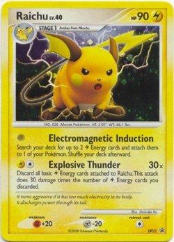 Pokemon Card Promo #DP21 - RAICHU lv.40 (holo-foil) ()