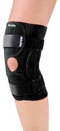 Mueller Elastic - Mueller Knee Brace Elastic, Black, Small/Medium