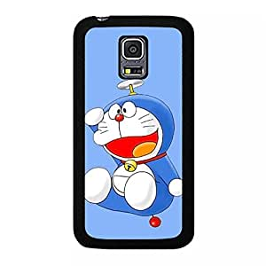 Cartoon Viking Doraemon Phone Case for Samsung Galaxy S5 Mini Newest Popular Anime Pattern Cover Case Comic Design Doraemon Image Back Cover