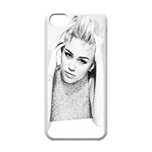 Miley Cyrus iPhone 5c Cell Phone Case White JU0981864