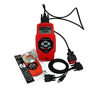 Roadi RDT51 Diagnostic Trouble Code Reader for OBDII Vehicles with Display Code Definitions, Detect VIN, Freeze Frame and I/M Readiness Status