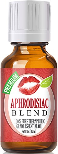 Aphrodisiac Essential Oil Blend - 100% Pure Therapeutic Grade Aphrodisiac Blend Oil - 30ml by Healing Solutions