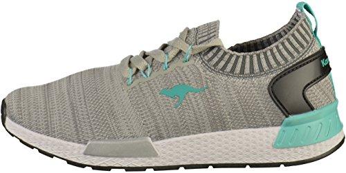 Grey Sneaker KangaROOS W Vapor Turquoise 590 Unisex Erwachsene Grau wxnzfvqSFg