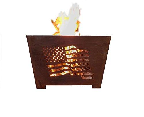 Esschert Design FF1001 Flag Fire Basket