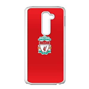 LG G2 Cell Phone Case White Liverpool Logo Never Walk Alone LSO7824945