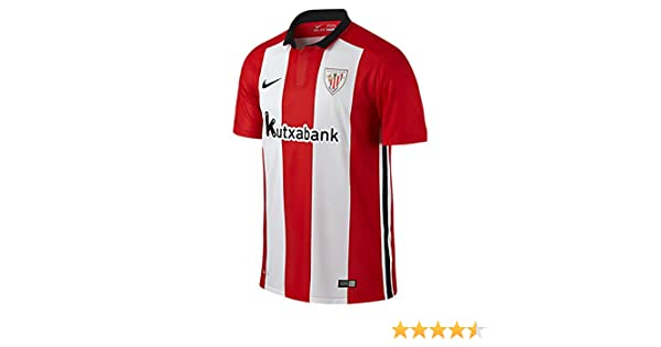 Nike - Athletic Bilbao 1ª Camiseta Junior 15 16 Hombre Color  Red and White  Talla  MB 27-29