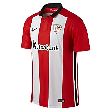Nike - Athletic Bilbao 1ª Camiseta Junior 15/16 Hombre Color: Red and White