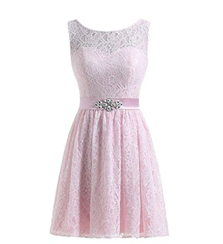 Linie A Damen Kleid Pink Drasawee Uv4wZxqx