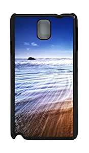 Samsung Note 3 Case Beach Waves 48 PC Custom Samsung Note 3 Case Cover Black