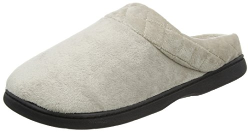pewter Pantofole Dearfoams Silver Clog Donna nqxwFCO