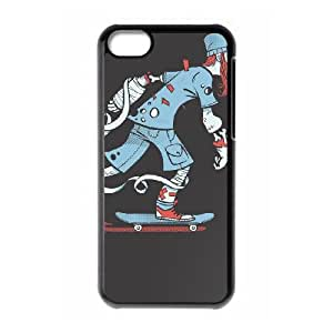 iPhone 5c Cell Phone Case Black SKATERS DON'T CRY LSO7836672