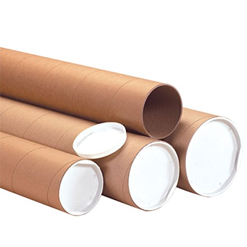 The Boxery Brown Shipping Mailing Tubes 2x15'' 50/cs