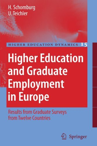 Higher Education and Graduate Employment in Europe: Results from Graduates Surveys from Twelve Countries (Higher Education Dynamics) by Schomburg Harald Teichler Ulrich (2010-11-29) Paperback