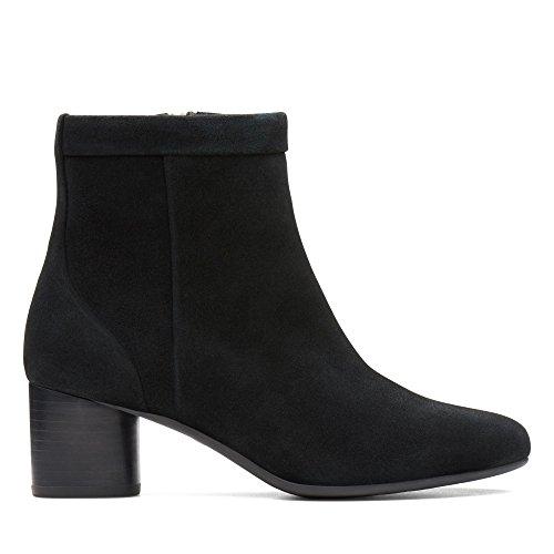 Chaussures Ville à Femme Noir Clarks de Noir pour Lacets fEdxqwZ