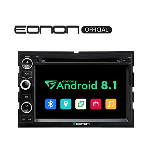 Pack Explorer Double - Eonon Double Din Car Android Auto Head Unit Android 8.1 Car Stereo Car Radio with Bluetooth 7 Inch Applicable with F150 2005,2006,2007 and 2008 in Dash Touch Screen Support WiFi-GA9173K