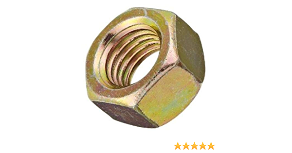 Small Parts FSC14HN8P High-Strength Steel Hex Nut 1//4-20 Thread Size Grade 8 Pack of 100 Fastcom Supply 1//4-20 Thread Size Pack of 100