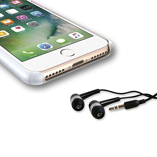 Funda iPhone 7 , WeLoveCase Funda Rígido para Apple iPhone 7 Diseño Mármol Carcasa Hard Case PC Dura Cáscara Bumper Case Cover Cristal Ultra Delgado Cubierta de Protección Protective Shell Anti-Arañaz Mármol