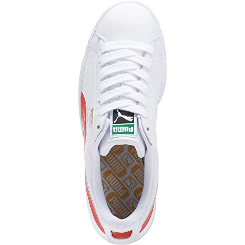 Puma White Flame 36 Scarlet Puma Sneaker Uomo EU Basse qxwzvrYqA