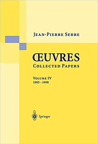 Téléchargement gratuit d'epub books Oeuvres-Collected Papers: Volume IV: 1985-1998 (French and English Edition) PDF