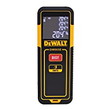 DEWALT DW065E Laser Distance Measurer, 65'