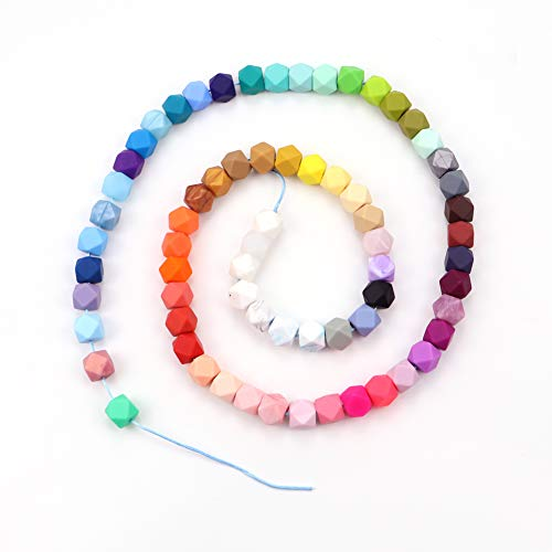 Silicone Beads Wholesale Silicone Beads 50 or 100 BULK Round Silicone Beads Red Purple /& White Mix Silicone Beads Pink