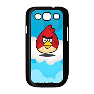 Red Bird Angry Birds Game Samsung Galaxy S3 9 Cell Phone Case Black TPU Phone Case SV_151870