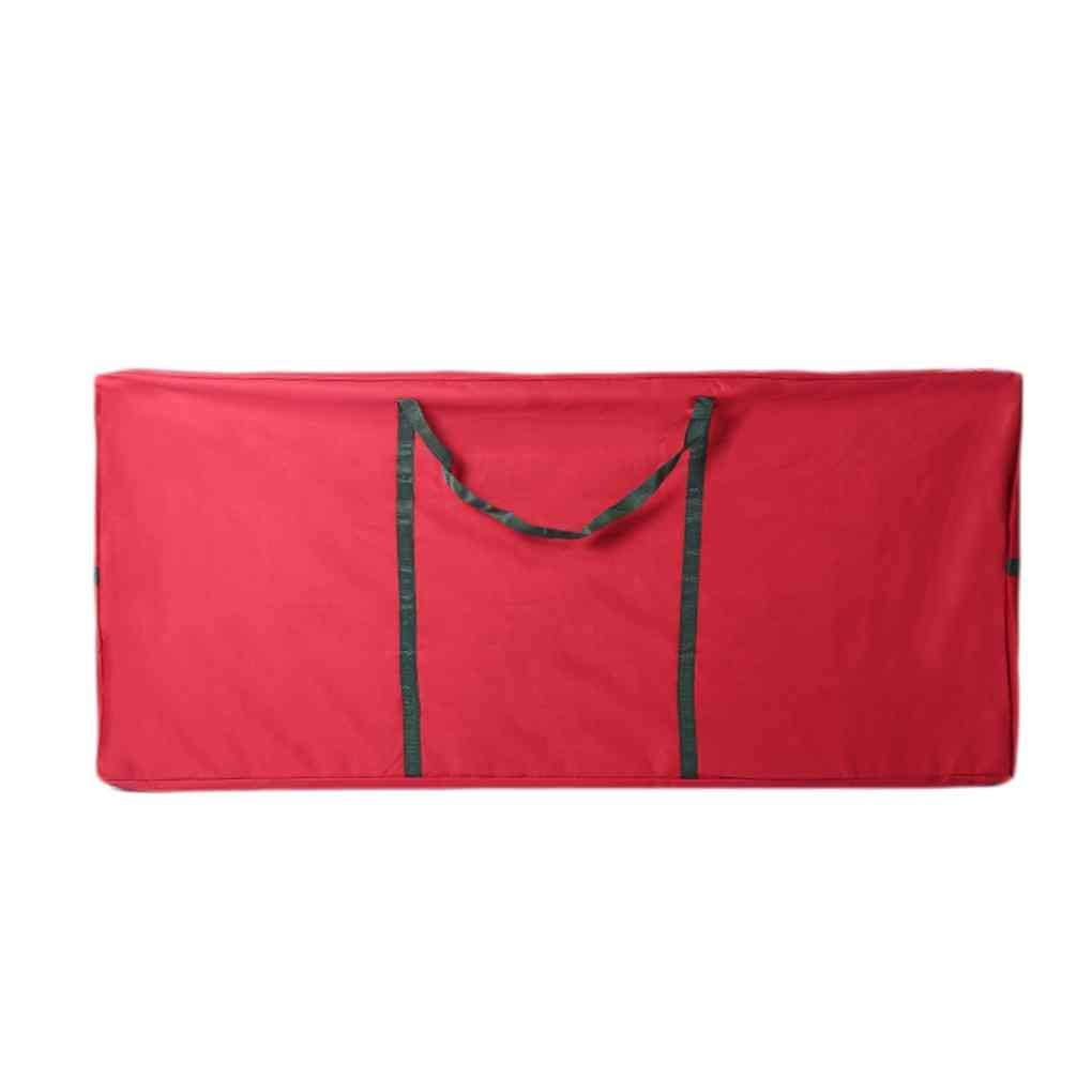 Bomcomi Extra Large Waterproof Oxford Christmas Trees Storage Bag Portable Luggage Furniture Packing Basket Household Sundries Organizer