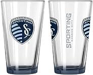 MLS Sporting Kansas City Elite Pint, 16-Ounce, 2-Pack