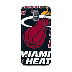 JasonPelletier Samsung Galaxy S5 Perfect Hard Phone Cases Customized Vivid Miami Heat Image [sHT2050yVqv]